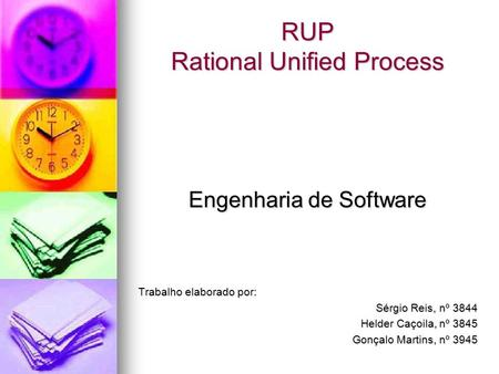 RUP Rational Unified Process