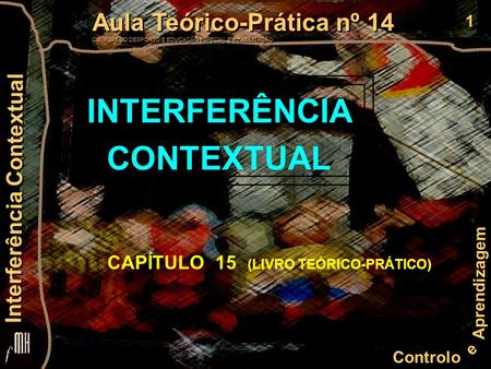 INTERFERÊNCIA CONTEXTUAL