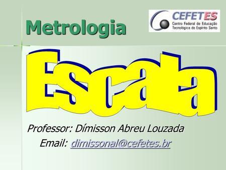 Apresentacoes metrologia