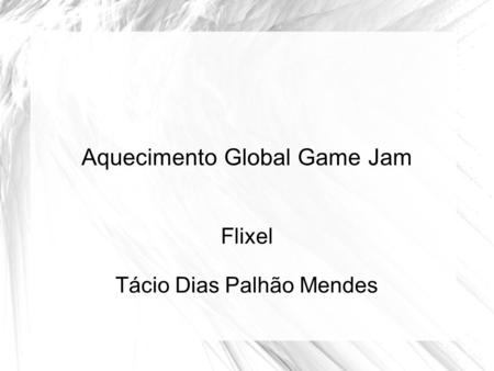 Aquecimento Global Game Jam