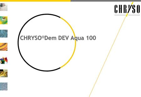 CHRYSODem DEV Aqua 100 CHRYSO ® Dem DEV Aqua 100.