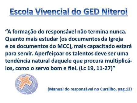 Escola Vivencial do GED Niteroi