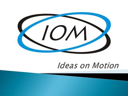 Ideas on Motion.