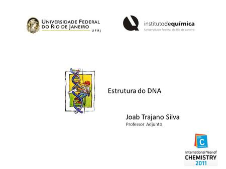 Estrutura do DNA Joab Trajano Silva Professor Adjunto.