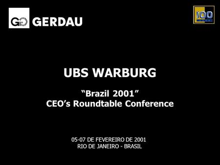 CEO's Roundtable Conference