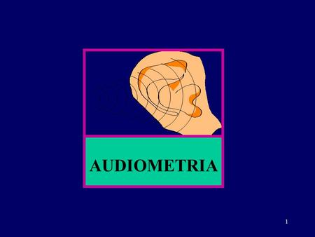 1 AUDIOMETRIA. 2 A AUDIOMETRIA Via Aérea Via Óssea AUDIÔMETRO.