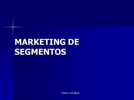 MARKETING DE SEGMENTOS