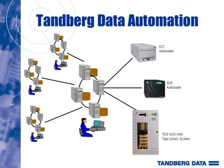 Tandberg Data Automation SLR Autoloader DLT Autoloader TDS 1210-1440 Tape Library System.