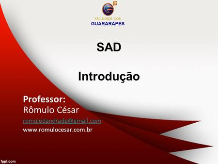 FACULDADE DOS GUARARAPES