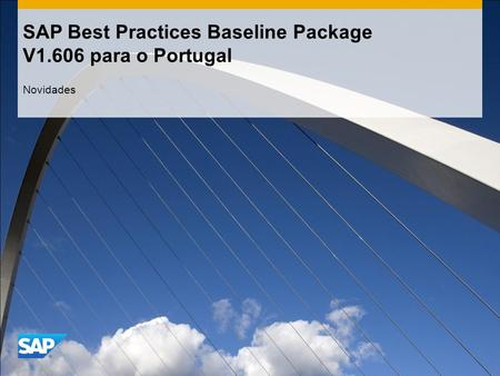 SAP Best Practices Baseline Package V1.606 para o Portugal Novidades.