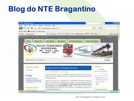 Blog do NTE Bragantino.