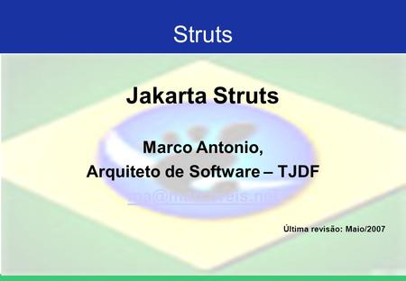 Arquiteto de Software – TJDF