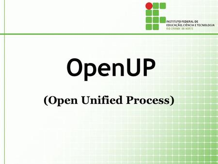 (Open Unified Process)