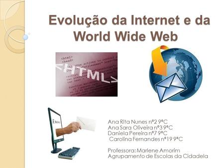 Evolução da Internet e da World Wide Web