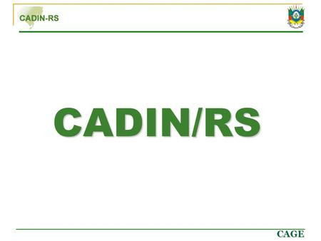 CADIN/RS.