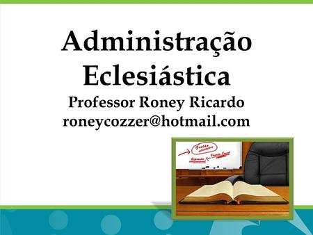 Professor Roney Ricardo