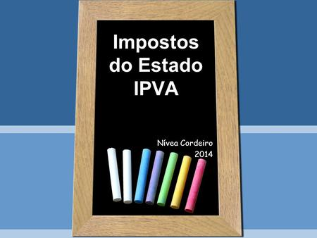 Impostos do Estado IPVA