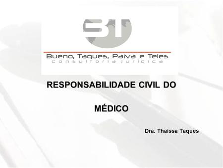 RESPONSABILIDADE CIVIL DO