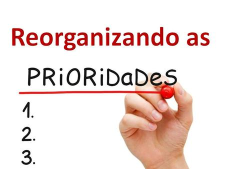 Reorganizando as.