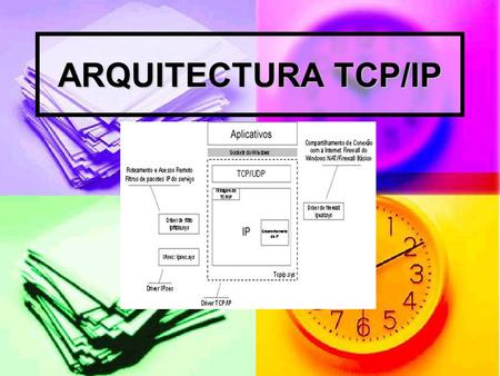 ARQUITECTURA TCP/IP.