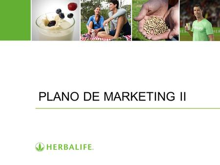 PLANO DE MARKETING II.
