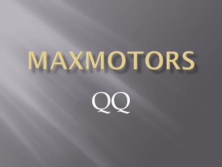MAXMOTORS QQ.