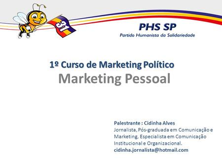 1º Curso de Marketing Político