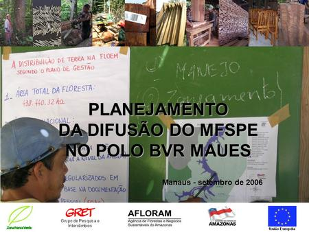 PLANEJAMENTO DA DIFUSÃO DO MFSPE NO POLO BVR MAUES