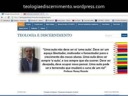 Teologiaediscernimento.wordpress.com.
