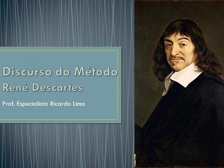 Discurso do Método René Descartes