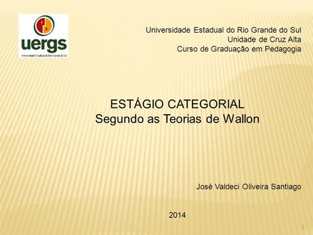 Segundo as Teorias de Wallon
