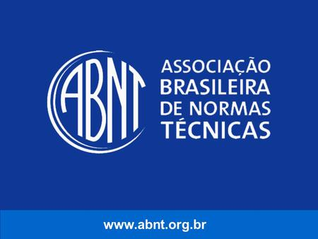Www.abnt.org.br.