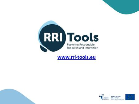 Www.rri-tools.eu. | RRI – RESPONSIBLE RESEARCH AND INNOVATION.