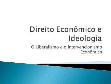 economia e o intervencionismo pdf