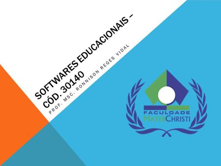 Softwares Educacionais – Cód