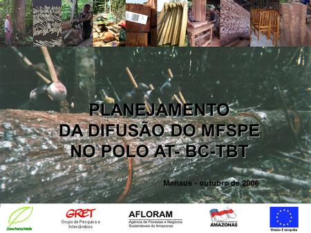 PLANEJAMENTO DA DIFUSÃO DO MFSPE NO POLO AT- BC-TBT