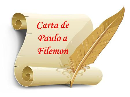 Carta de Paulo a Filemon