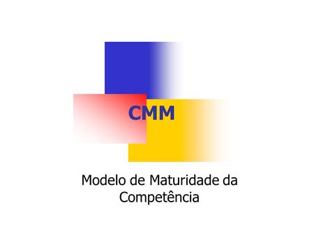 CMM Modelo de Maturidade da Competência. Engenharia de Software Prof. Claudiney Sanches Júnior Engenharia de Software Prof. Claudiney Sanches Júnior 2.