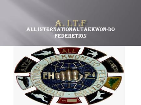 All International TaeKwon-Do Federetion