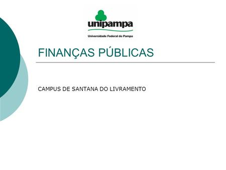 CAMPUS DE SANTANA DO LIVRAMENTO