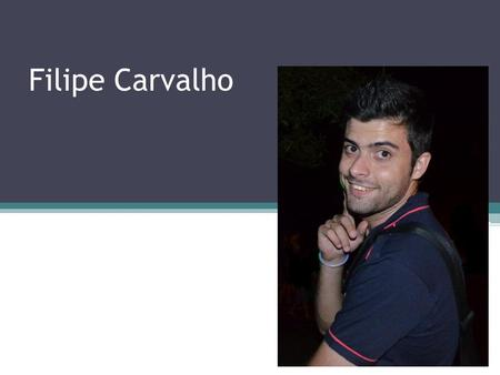 Filipe Carvalho. About myself... I am Portuguese born in South Africa. My first language is English. I can proof-read, write and edit any documents in.