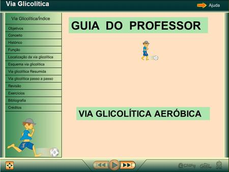 GUIA DO PROFESSOR VIA GLICOLÍTICA AERÓBICA.