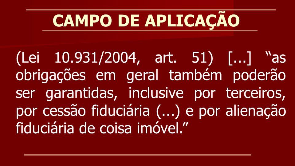 CAMPO DE APLICAÇÃO Jurisprudência AI 0.805.305-6 – TJPR - Publicado: 04/04/2012 Direito Processual Civil.