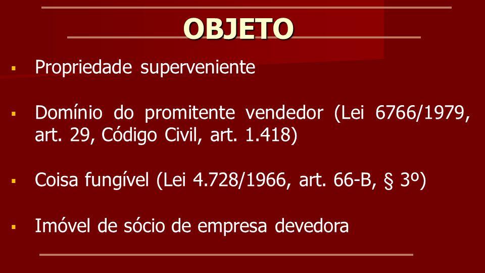 PROPRIEDADE SUPERVENIENTE Código Civil, arts.