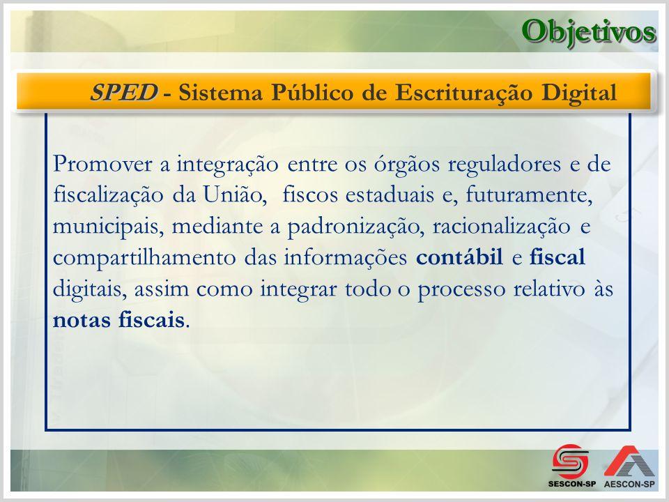 O projeto tem como objetivo a alteração da sistemática atual de emissão da nota fiscal em papel, por nota fiscal de existência apenas eletrônica.