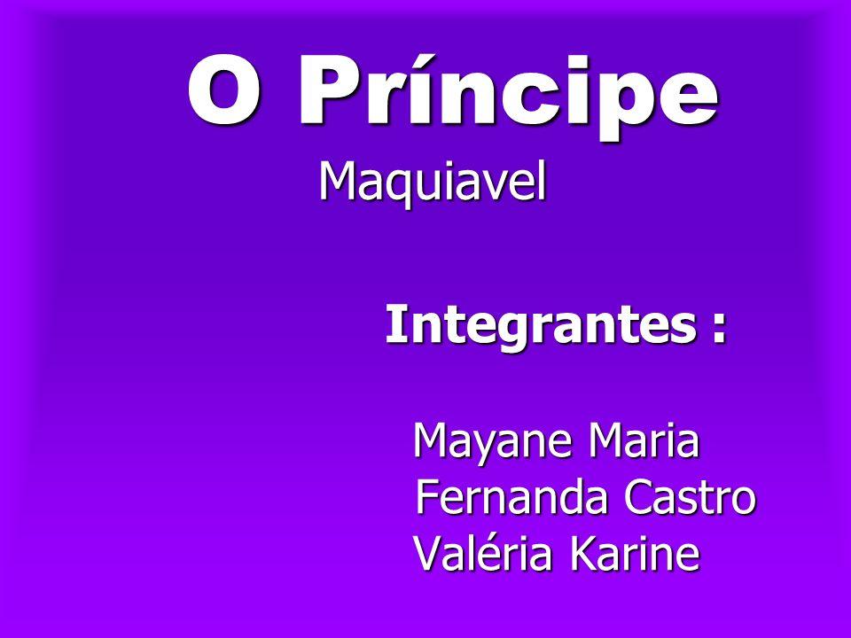 Biografia Biografia Maquiavel Niccolò Machiavelli, dito Maquiavel, ensinou ao mundo uma lição de política prática.