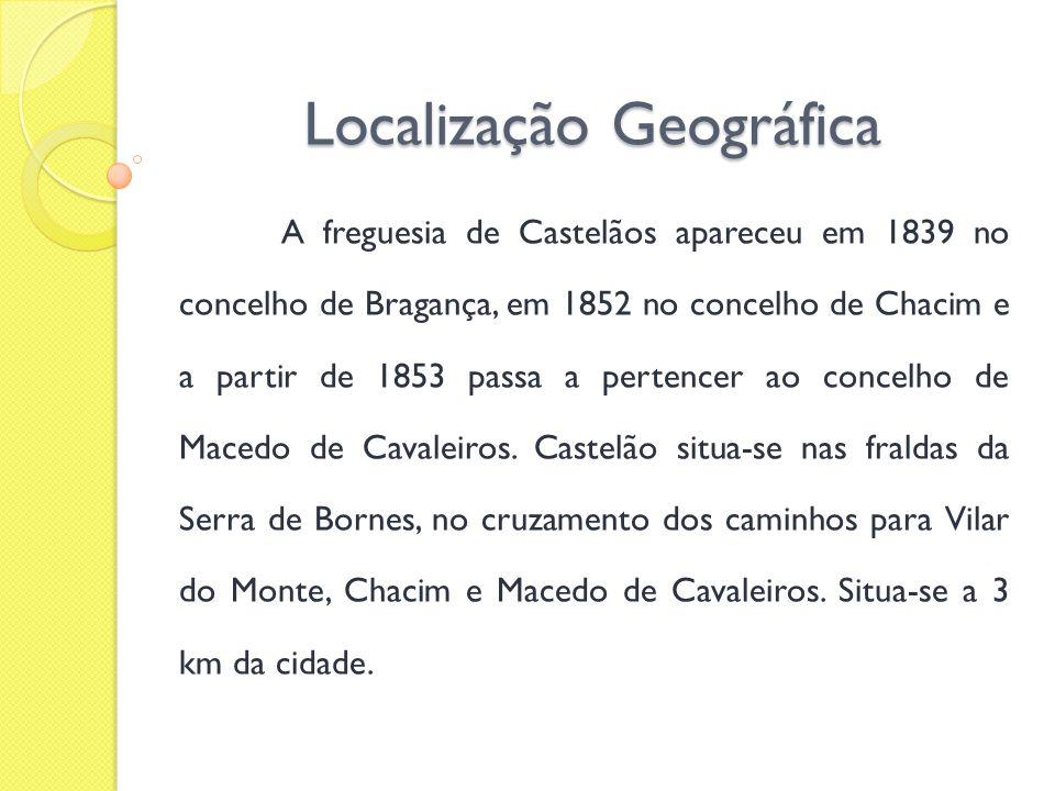 História O nome de Castelãos advém do antigo castelo de mouros que existia onde está edificada a actual capela de S.