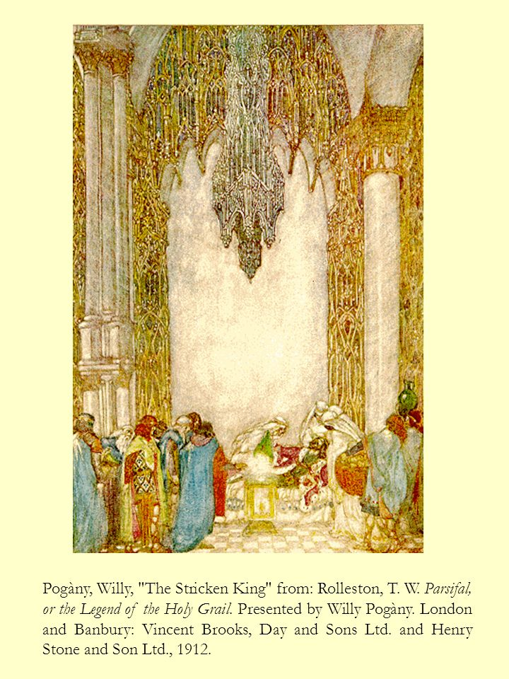 Pogàny, Willy, Parsifal the Fool from: Rolleston, T.