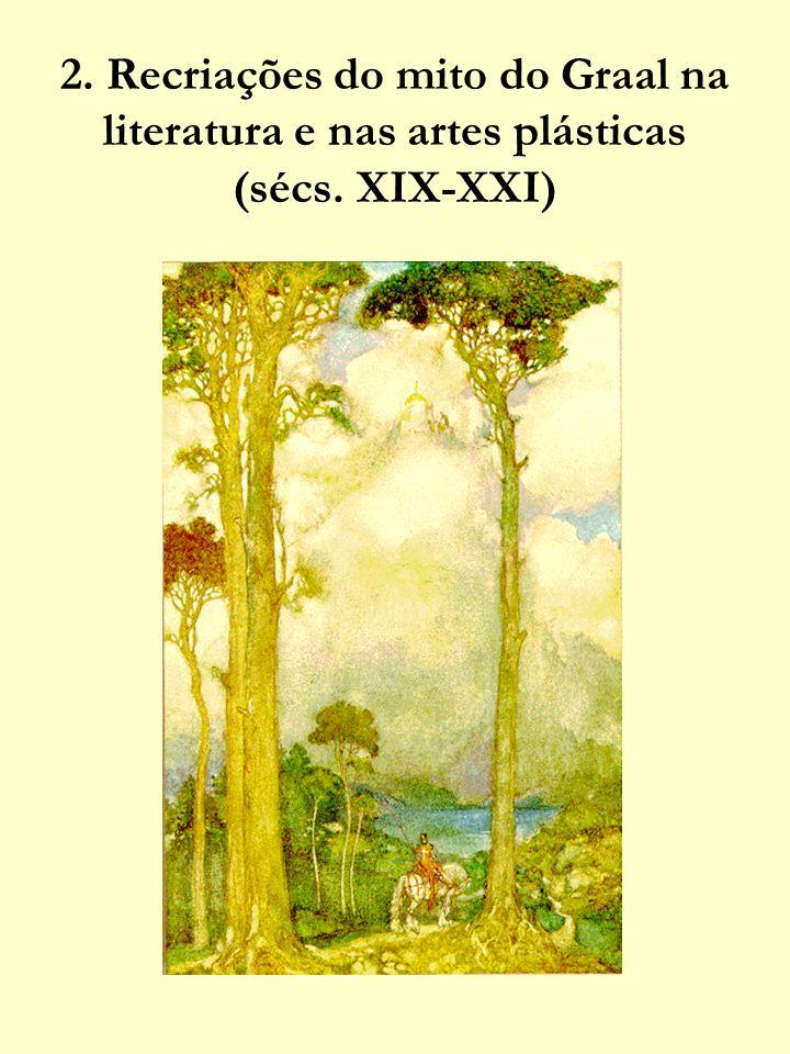 http://www.library.rochester.edu/camelot/GR LMENU.HTM - «Menu Graal» do site do projecto Camelot, da Universidade de Rochester (U.S.A.), sobre temas arturianos.