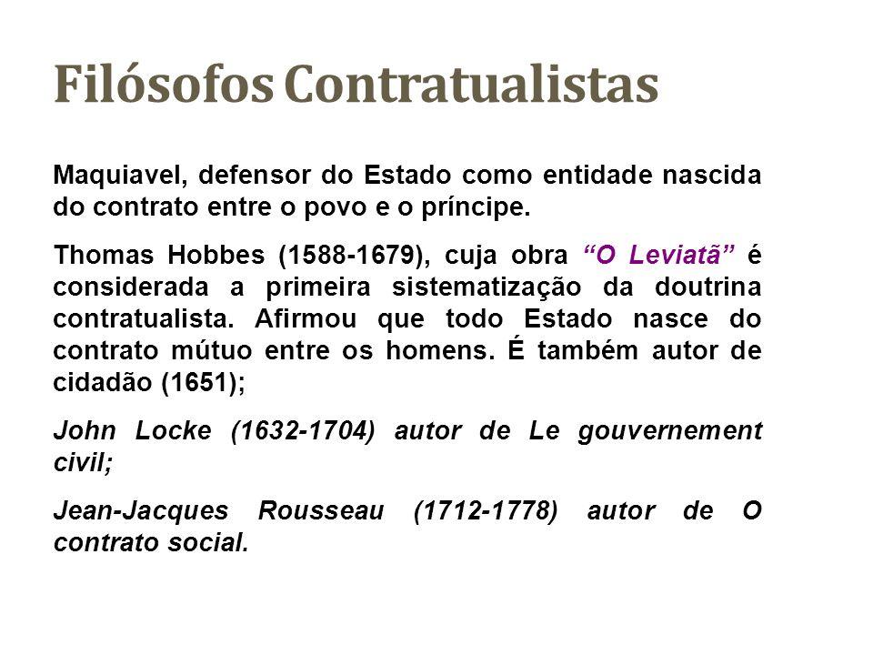 Contratualismo O contratualismo é, acima de tudo, uma teoria prescritiva acerca da melhor ordem política.
